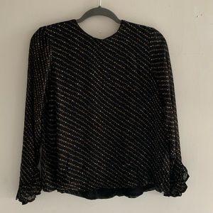 ganni blouse